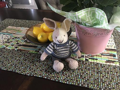 Aileen's sweet little bunny!