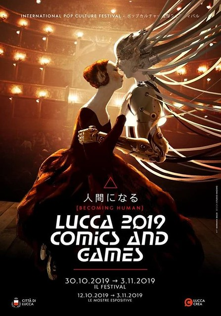 Lucca Comics & Game 2019 Poster Ufficiale