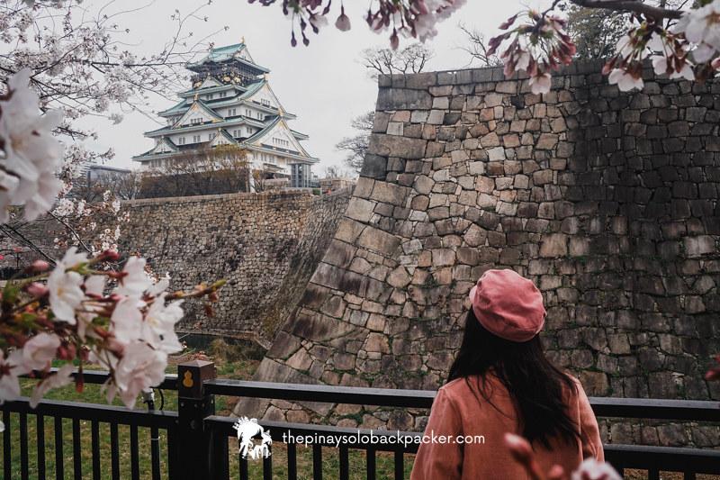 KANSAI ITINERARY - OSAKA CASTLE