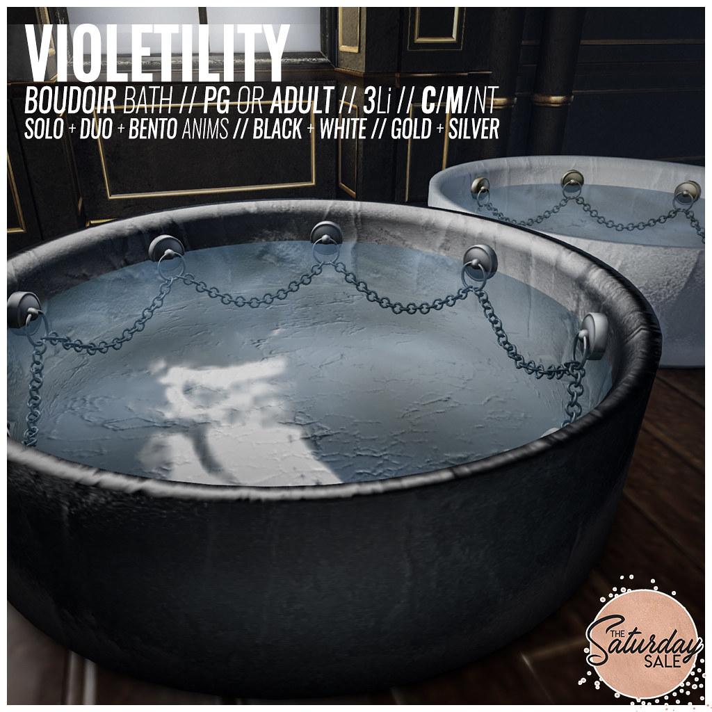 Violetility - Boudoir Bath - TeleportHub.com Live!
