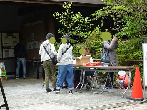 横浜自然観察の森で野鳥観察
