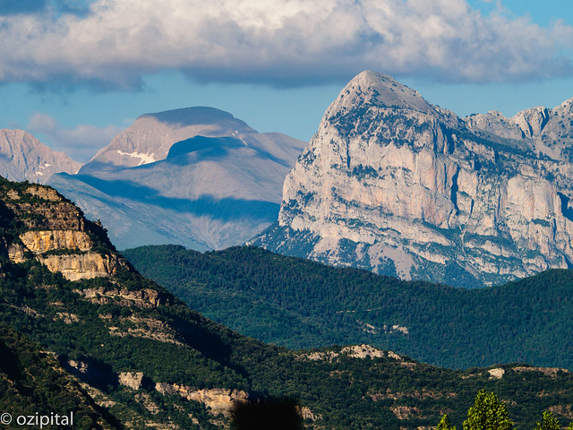 Pyrenees View From near Fiscal