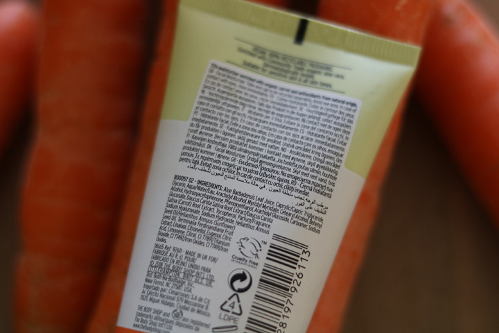 Carrot Cream Nature-Rich Daily Moisturiser van The Body Shop