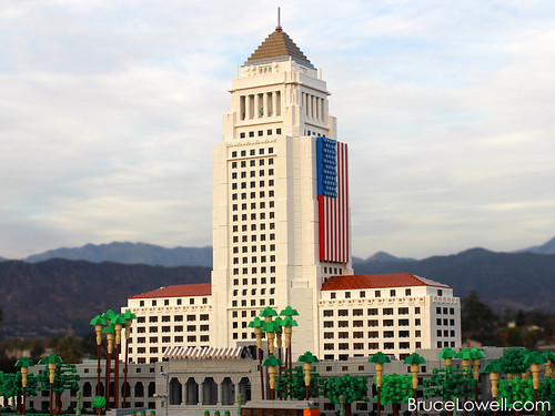LEGO Los Angeles City Hall