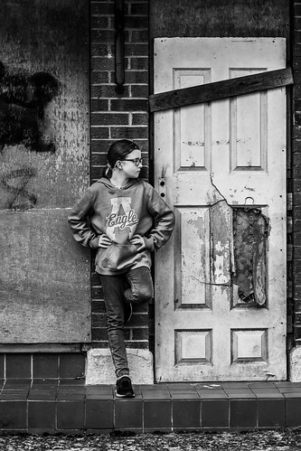 Emily BW door   by Cagey75