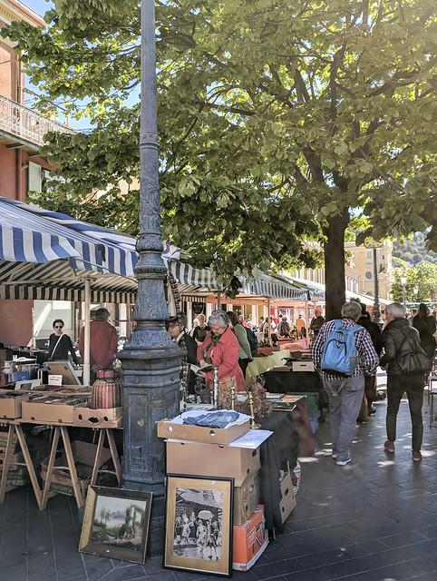 Marché du cours Saleya, Nice