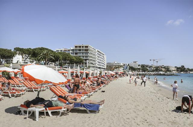 Juan Les Pins, beach