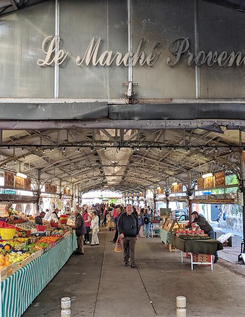 Marché provençal, Antibes