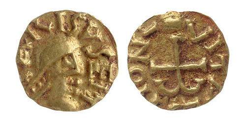 coins found in Anglo-Saxon warrior prince tomb