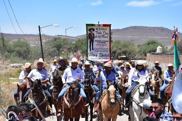"""Cabalgata """"Las Cruces"""" por El Centenario del Ejido de Santa Cruz de las Flores"""