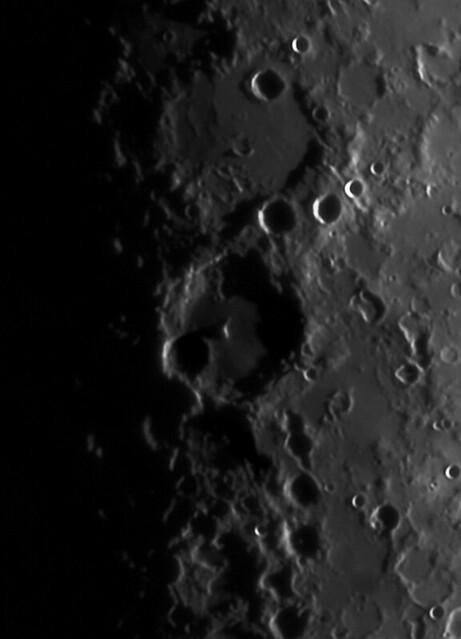Lunar Craters Hipparchus, Albategnus/Klein & Parrot