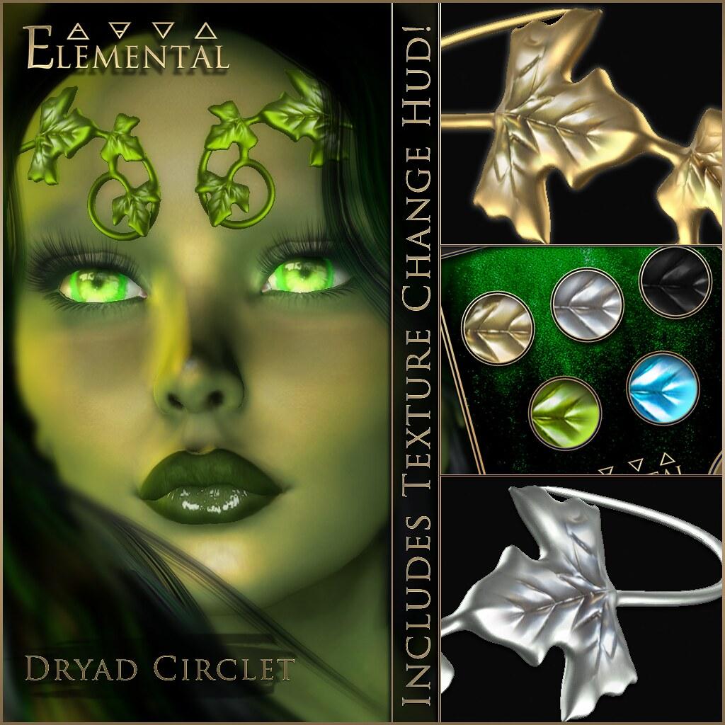 – ELEMENTAL – 'Dryad Circlet' Advert