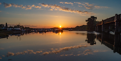 sun sunrise dawn sky cloud river riverhamble swanwick lowerswanwick hampshire sony alpha sonya58