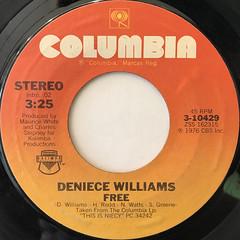 DENIECE WILLIAMS:FREE(LABEL SIDE-A)