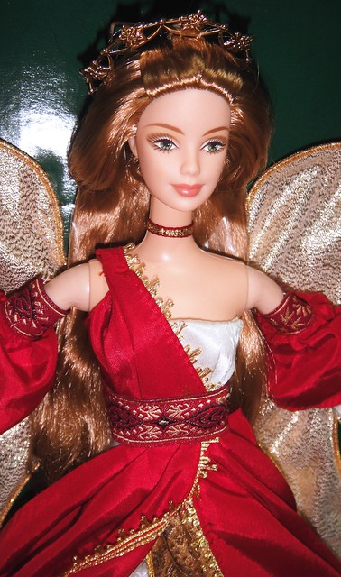 2001 Holiday Angel Barbie (4)