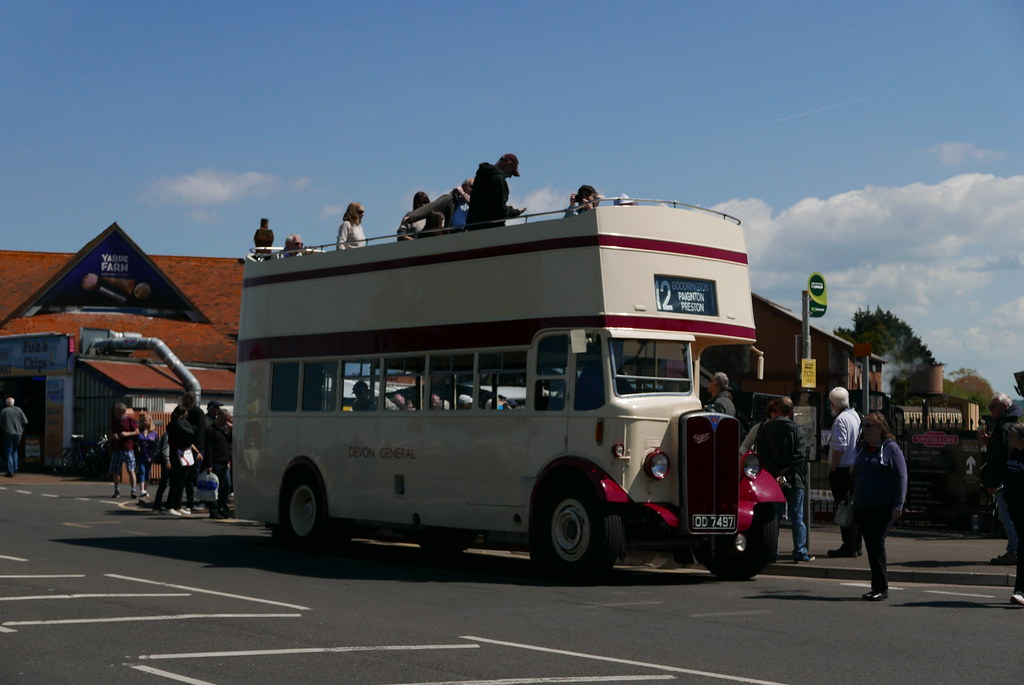 Od7497 quantock heritage wiveliscombe aec regent - Longwell green swimming pool times ...