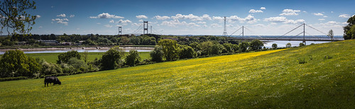 chesptow monmouthshire wales flickrfriday panorama walescoastpath