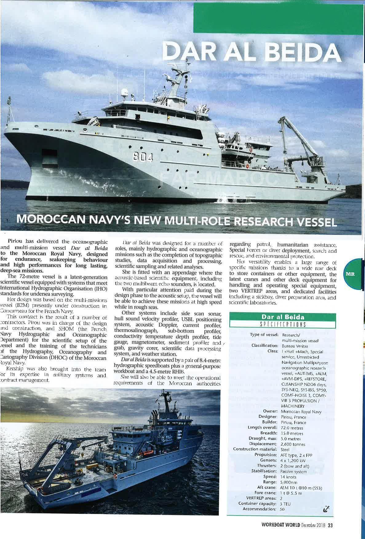 Bâtiment Hydrographique et Océanographique Multi-Missions (BHO2M) DAR EL BEIDA (804) - Page 2 33959305438_b22964d001_o