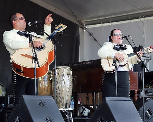 Mariachi Jalisco at Jazz Fest day 8 - 5.5.19. Photo by Bill Sasser.
