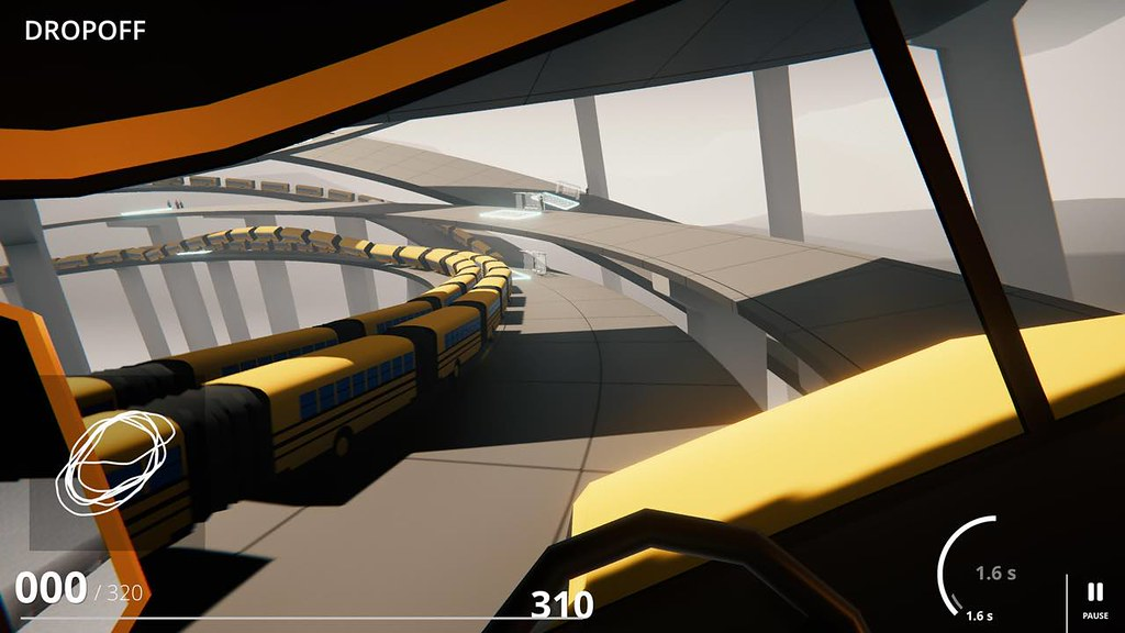 Snakeybus 0 1 – Snake through the city streets and avoid crashing