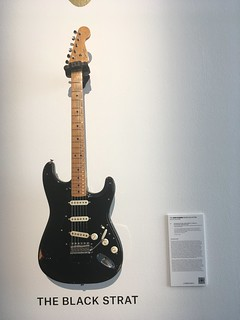 David Gilmour Guitar Collection at Christie's in Beverly Hills.