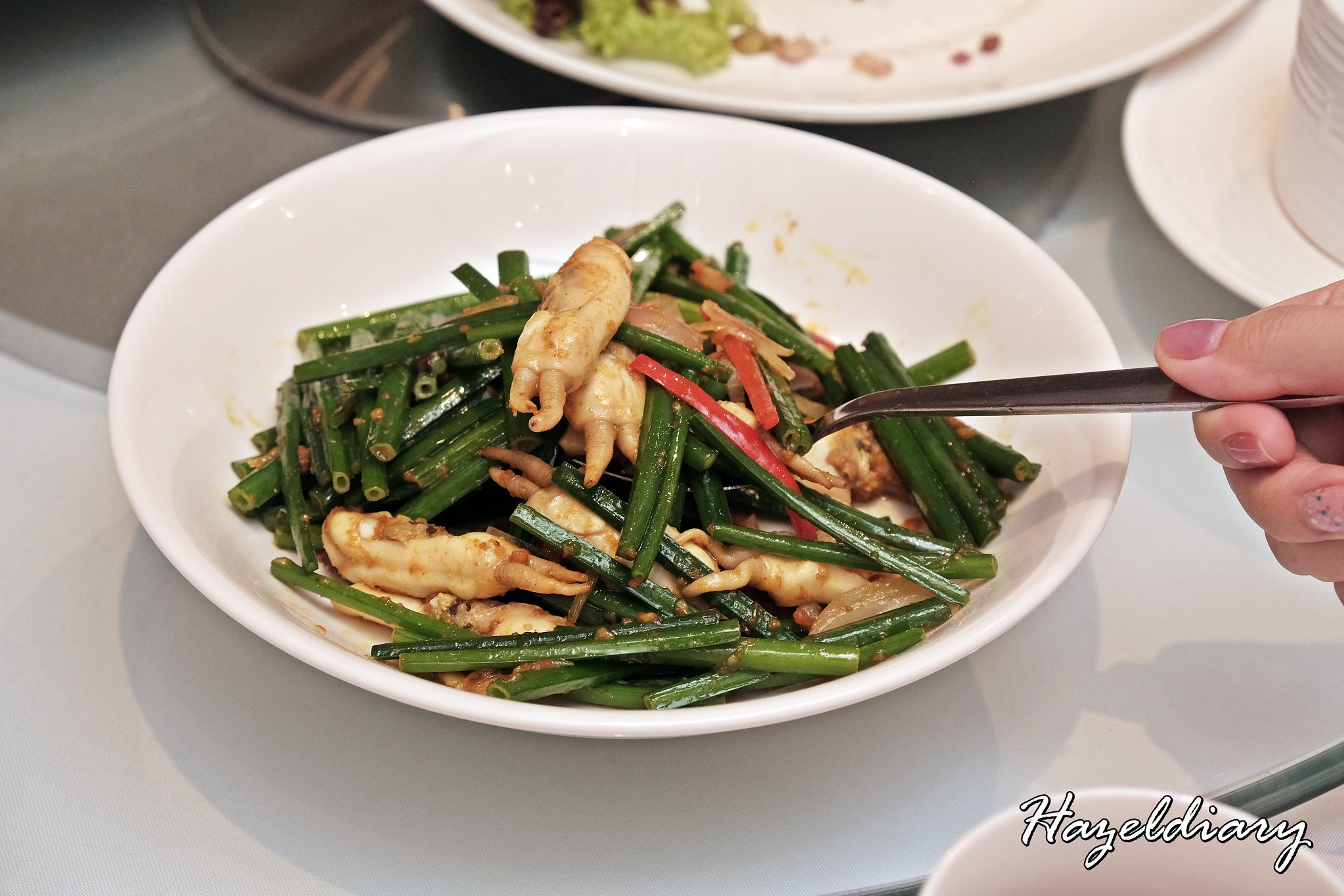 Putien Stir-fried Sambal Chives with DUOTOU Clam
