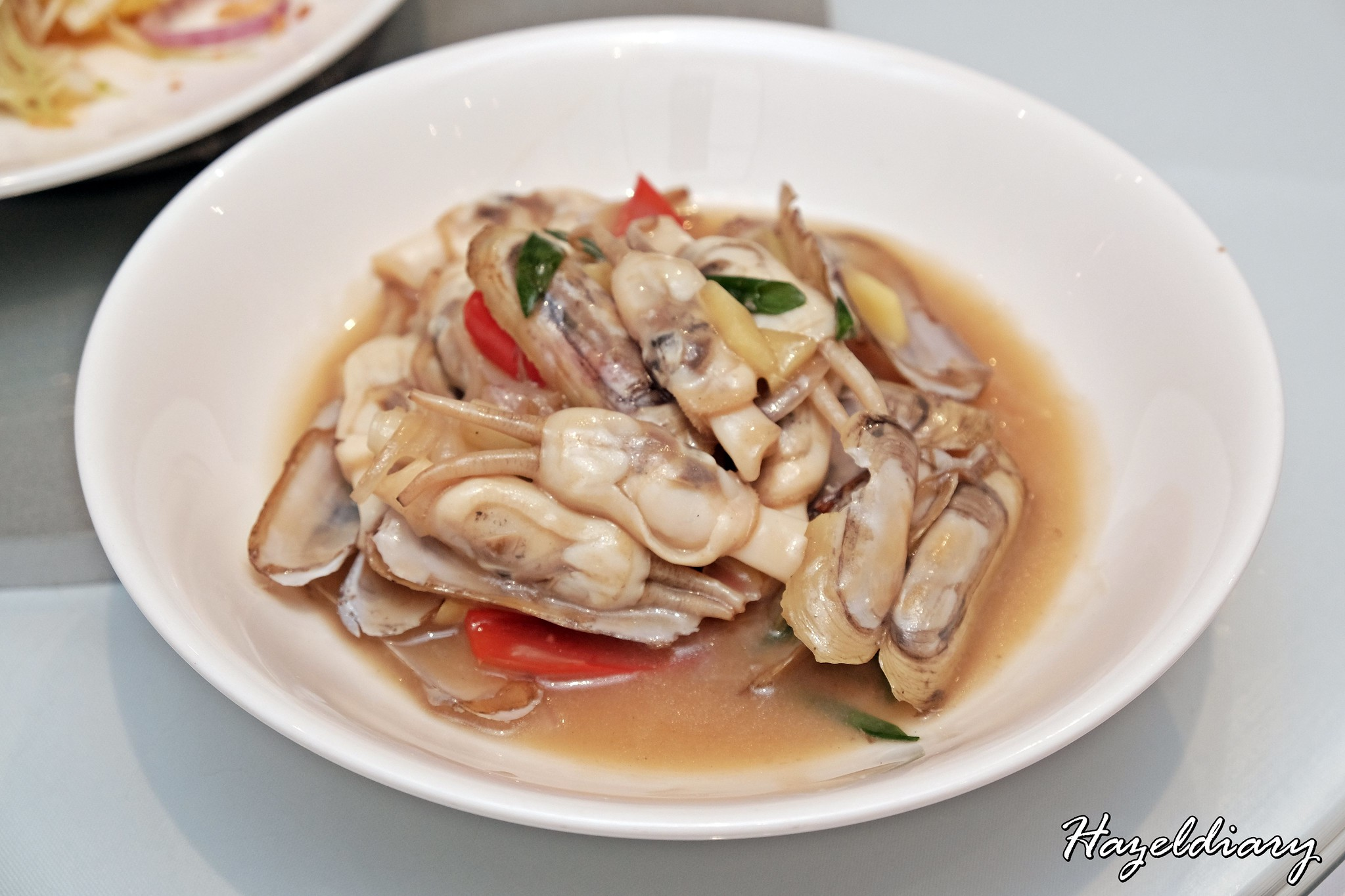 PUTIEN Stir-fried DUOTOU Clam with Ginger & Spring Onion