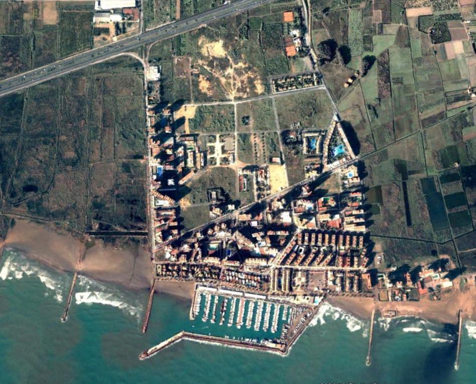 playa puebla de fornals, valencia, la puebla 20 km tierra adentro, antes, urbanismo, planeamiento, urbano, desastre, urbanístico, construcción