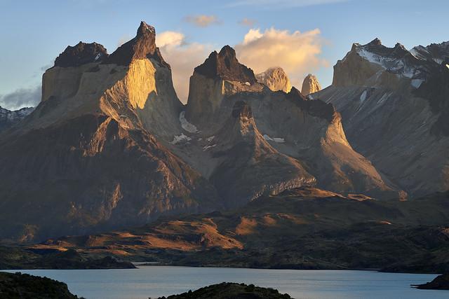 Cuernos del Paine au lever du soleil #2 [ Parc national Torres del Paine ~ Chili ]