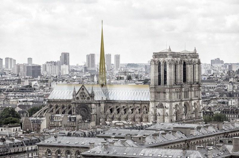 Notre-Dame de Paris : Projet Godart + Roussel Architectes