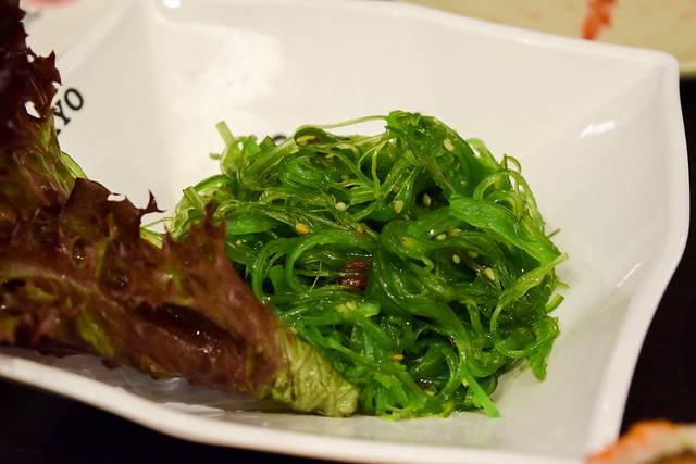 Wakame Salad at Eat Tokyo, Notting Hill Gate
