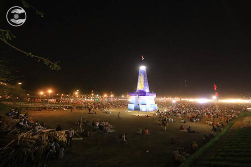 Night view of Samagam gate