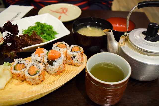 Lunch at Eat Tokyo, Notting Hill Gate