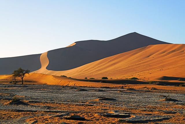Desert & dunes, Sossusvlei, Namibia