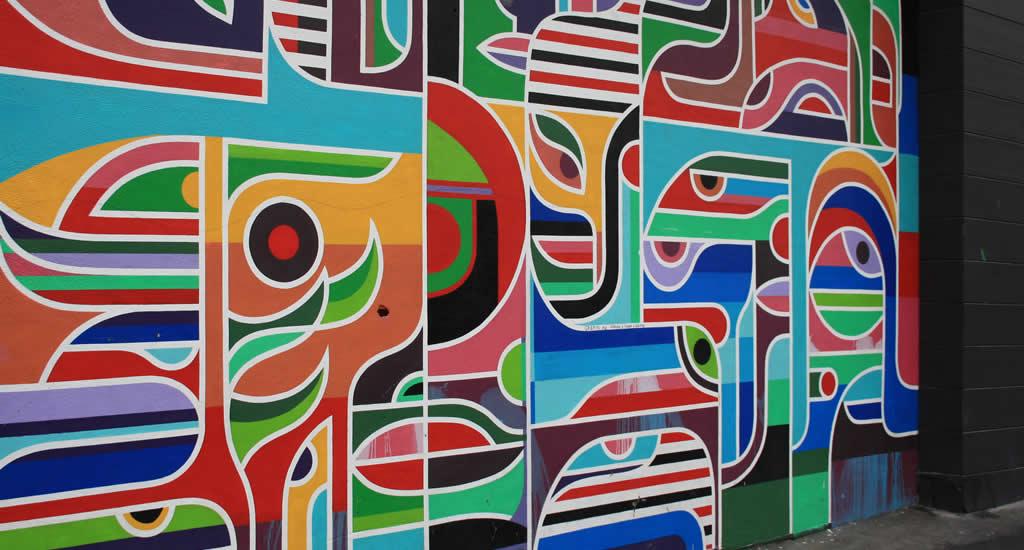 Street art in de wijk San Francisco | Mooistestedentrips.nl
