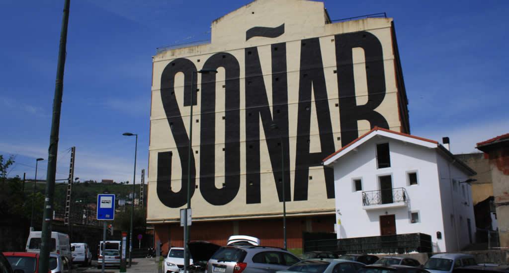 Street art in het havengebied van Bilbao | Mooistestedentrips.nl