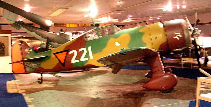 Fokker D. XXI 00002
