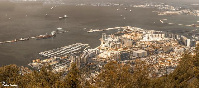 Gibraltar-desde-peñon_Andalucia