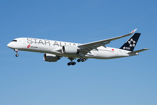 F-WZNJ / B-308W - Airbus A350-941 - Air China (Star Alliance Livery) - msn 311
