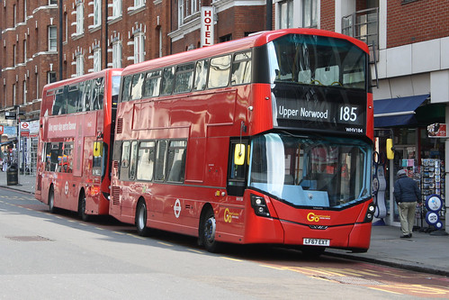 Go-Ahead London WHV184 LF67EXT