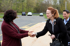 Rep. McCarty visited Birch Grove School in Tolland on May 10, 2019 in her capacity as Ranking Member of the Education Committee, as the school is suffering from a crumbling foundation.