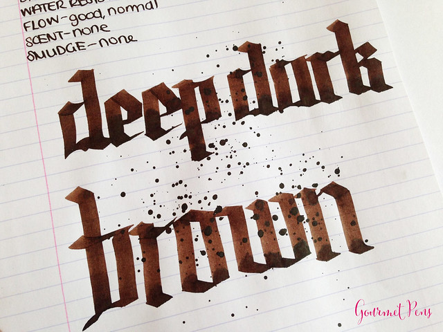 Cult Pens Diamine Deep Dark Brown Ink 7