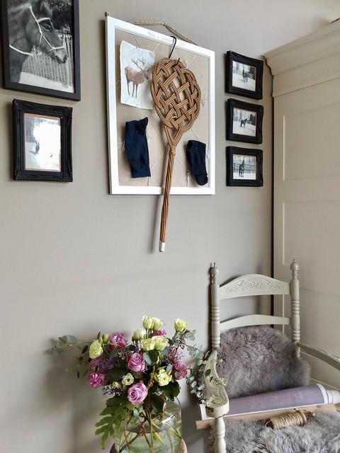 Wanddecoratie landelijke slaapkamer