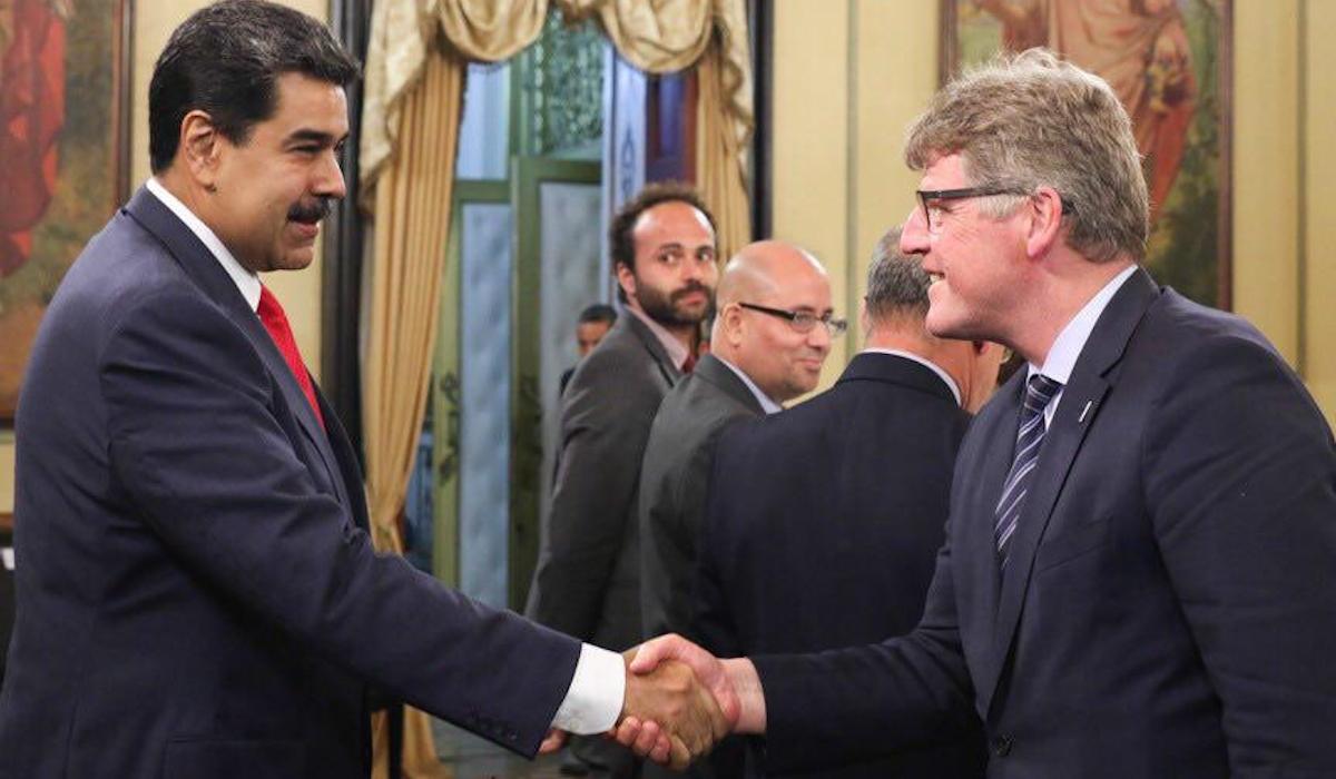 Presidente Nicolás Maduro se reúne con representantes de la ONU en Miraflores