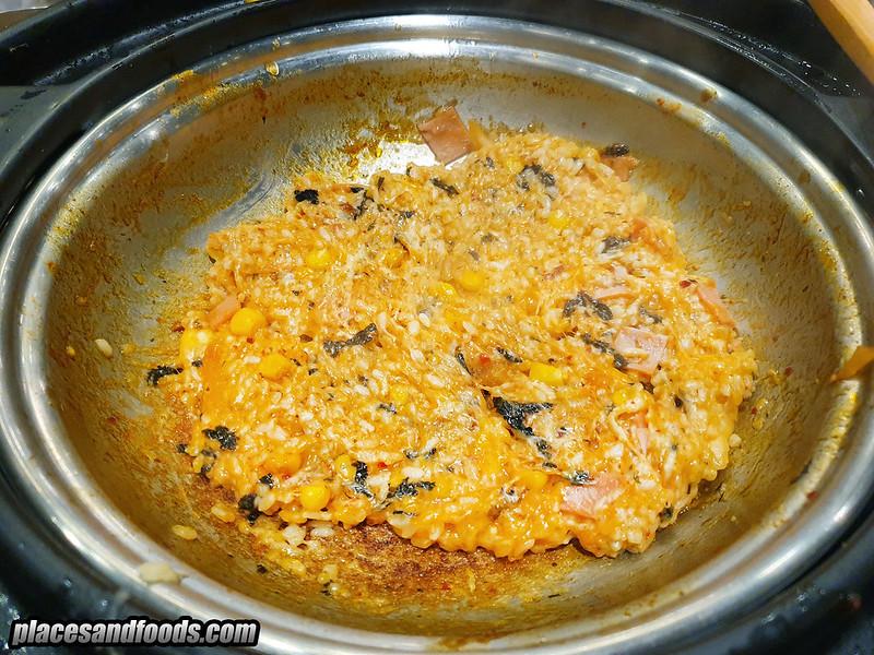 dookki golden kimchi fried rice