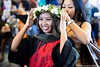 """Approximately 640 students received degrees and/or certificates from the University of Hawaii at Hilo's six collges. The campus held its spring 2019 commencement on Saturday, May 11, 2019 at the Edith Kanakaole Stadium. (Photo credit: Raiatea Arcuri) For more photos, go to UH Hilo Stories at: <a href=""""https://hilo.hawaii.edu/news/stories/2019/05/13/2019-spring-commencement/"""" rel=""""noreferrer nofollow"""">hilo.hawaii.edu/news/stories/2019/05/13/2019-spring-comme...</a>"""