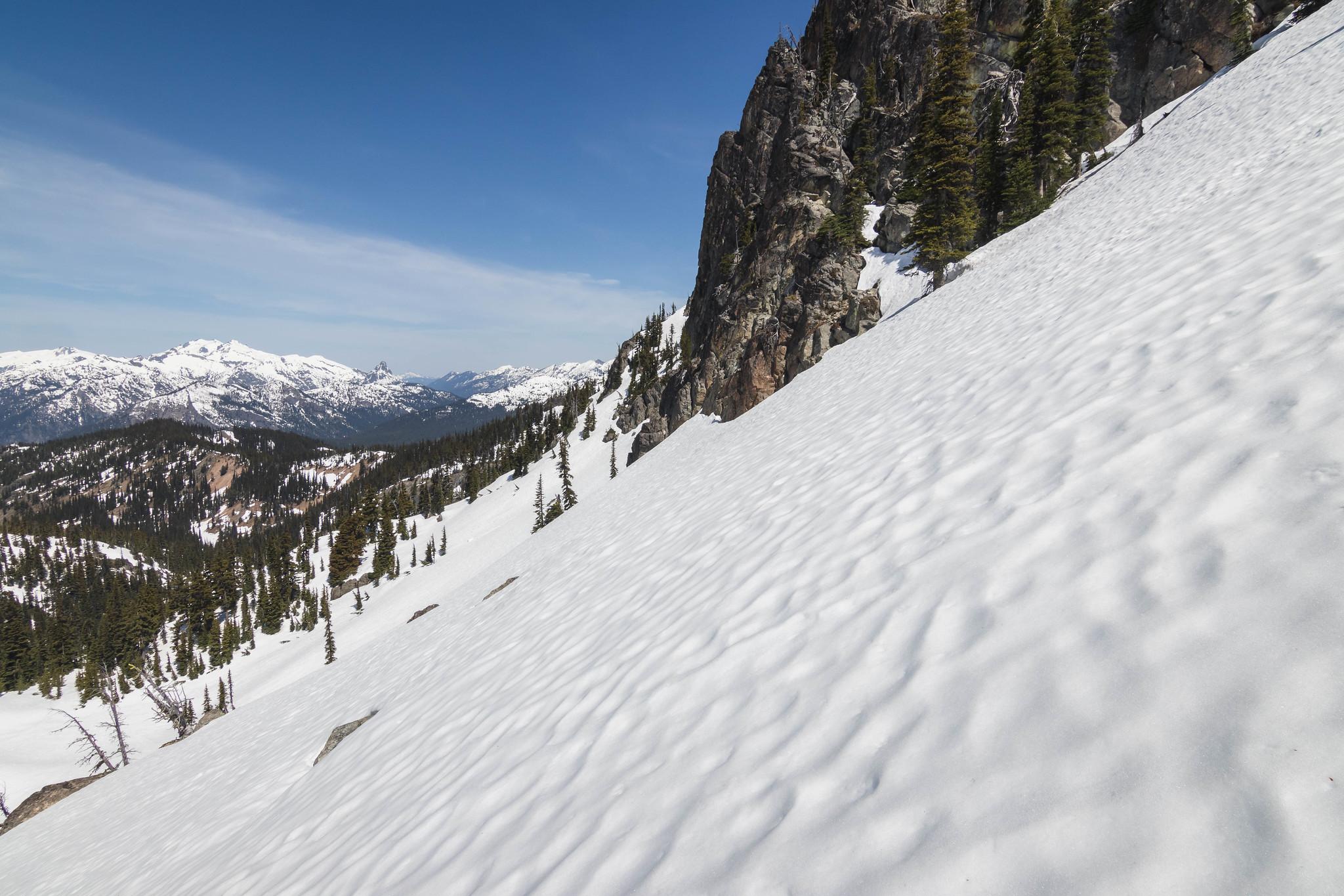 Going around Davis Peak North