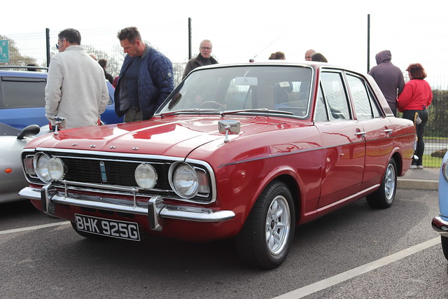 Ford Cortina 1600 GT BHK925G
