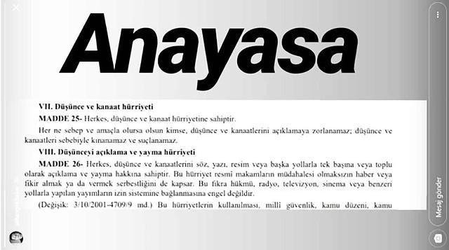 Şahan Gökbakar'dan Anayasa'lı cevap