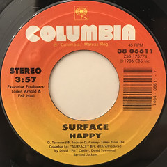 SURFACE:HAPPY(LABEL SIDE-A)